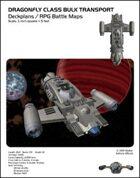 Dragonfly Class Bulk Transport Deckplans/RPG Battle Maps