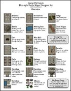 Hex Dungeons Map Set