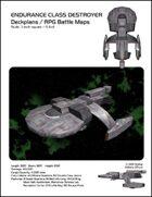Endurance Class Destroyer Deckplans/RPG Battle Maps