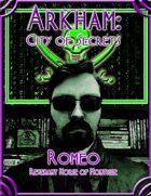 Arkham: City of Secrets - The Undead: Romeo