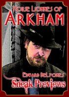 Arkham: City of Secrets - House Lionnes: Edward DeLyones