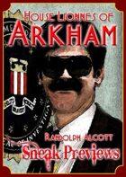 Arkham: City of Secrets - House Lionnes: Randolph Alcott
