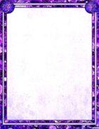 Bree Orlock Designs: Purple Crystal Dragon Border