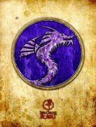 Bree Orlock Designs: Purple Crystal Dragon Seal