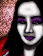 Bree Orlock Designs: Gothic Womans Face 2