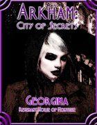 Arkham: City of Secrets - The Undead: Georgina