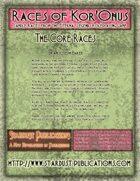 Races of Kor'Onus: The Core Races