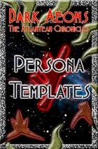 Dark Aeons: Persona Templates #2 - The Revenant
