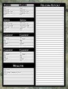 Dark Aeons Persona Sheet Add On