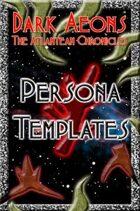 Dark Aeons: Persona Templates  #4 - The Nephilim