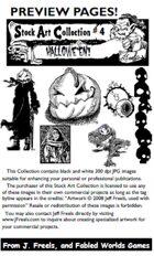 Stock Art Collection 4: HALLOWEEN