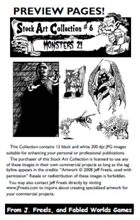 Stock Art Collection 6: Monsters 2!