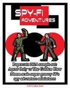 Spy-Fi Adventures Sample Set
