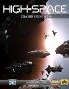 High Space Starship Figure Flats