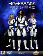High-Space Figure Set 2: Alpha Mercs