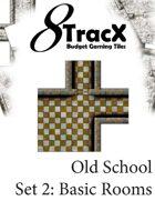 Old School Tile Set 2: Basic Rooms