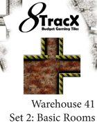 Warehouse 41 Tile Set 2: Basic Rooms