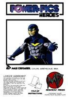 Power Pics Heroes 2 -Male Crusader