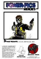 Power Pics Heroes 3 -Male Vigilante