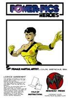 Power Pics Heroes 5 -Female Martial Artist