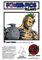 Power Pics Villains 1 -Male Cyborg