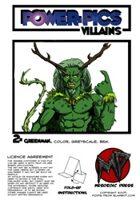 Power Pics Villains 2 -Greenman