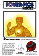Power Pics Heroes 8 -Male Energy Being