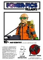 Power Pics Villains 10- Mad Scientist