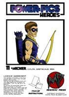 Power Pics Heroes 11- Archer