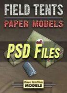 Field Tents PSD Files