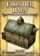 Frontier Barn Paper Model
