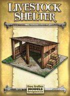 Livestock Shelter Paper Model