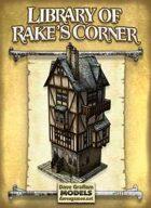 Library of Rake's Corner Paper Model