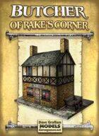 Butcher of Rake's Corner Paper Model