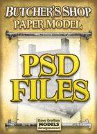 Butcher's Shop PSD Files