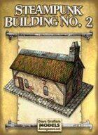 Steampunk Building No. 2 Paper Model