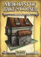 Merchant of Rake's Corner Paper Model