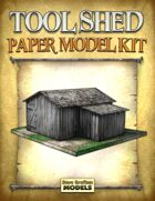 Tool Shed Paper Model