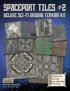 Spaceport Tiles #2 Paper Terrain