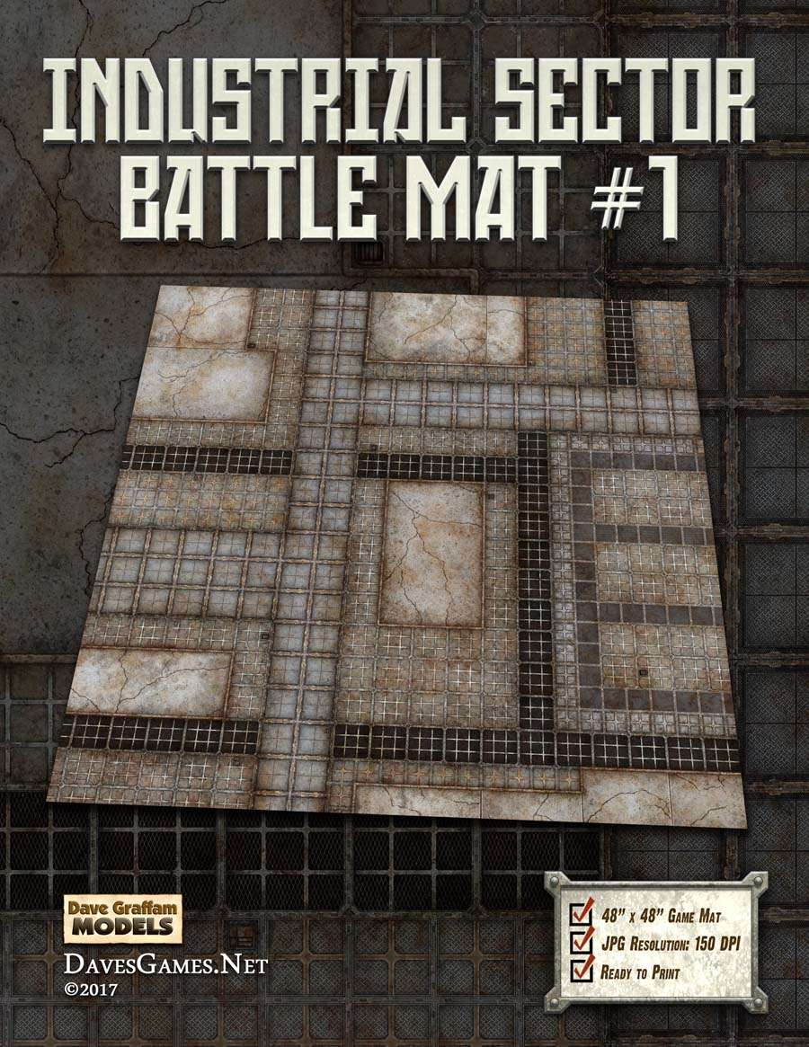 Industrial Sector Battle Mat #1