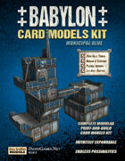 Babylon - Municipal Blue