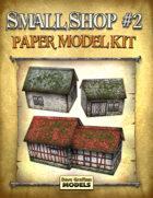 Small Shop #2 Paper Model Kit