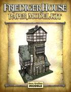 Friediger House Paper Model Kit
