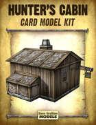Hunter's Cabin Card Model