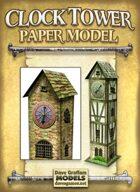Clock Tower Paper Model