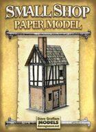 Small Shop Paper Model