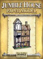 Jumble House Paper Model