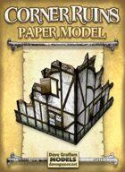 Corner Ruins Paper Model