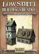 Low Street Buildings Bundle Paper Models
