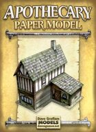 Apothecary Paper Model